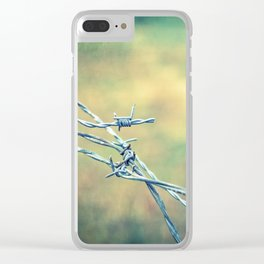 Twisted Clear iPhone Case