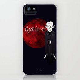 Knottsferatu iPhone Case