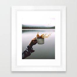 Coffee Cheers Framed Art Print