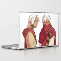 fullmetal Laptop & iPad Skins featuring Ishvalan Elric Brothers by Anyeka