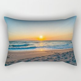 Canaveral National Seashore Sunrise Rectangular Pillow
