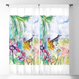 Pardise bird Blackout Curtain