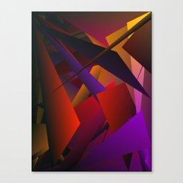 Smoke Screen Abstract 3 Canvas Print