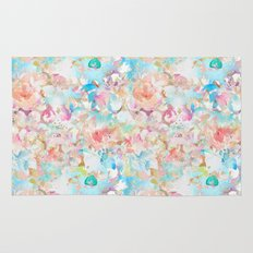 Watercolor Love Rug