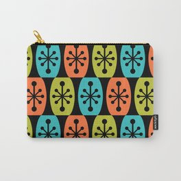 Mid Century Modern Atomic Fusion Pattern 333 Carry-All Pouch