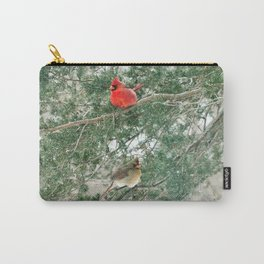 Tree for Two (Northern Cardinals) Carry-All Pouch
