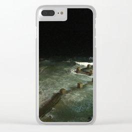 Bondi Beach By Night Clear iPhone Case
