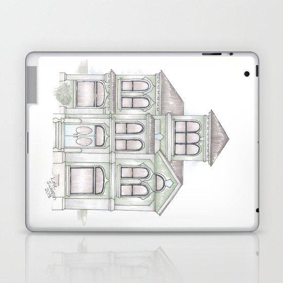 Green Italianate Victorian Laptop & iPad Skin