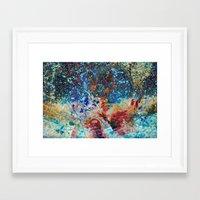 splatter Framed Art Prints featuring Splatter by Stephen Linhart