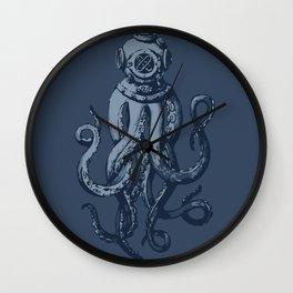 Scuba Octopus Wall Clock