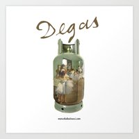 degas Art Prints featuring Edgar Degas by Marco Balestrucci