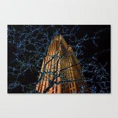 Christmas at Rockefeller Center Canvas Print