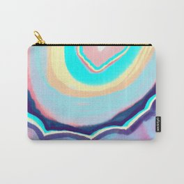 Colorful agate Carry-All Pouch