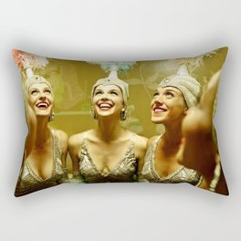 1950's Showgirls Rectangular Pillow