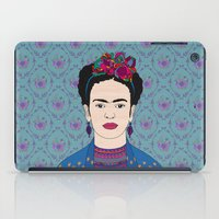 frida kahlo iPad Cases featuring Frida Kahlo by Bianca Green