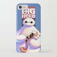 big hero 6 iPhone & iPod Cases featuring Baymax - Big Hero 6 by J Skipper