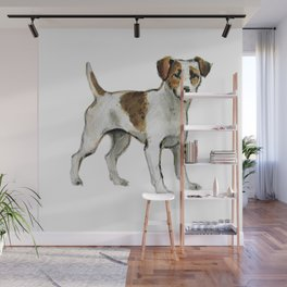 Jack Russell Terrier Wall Mural