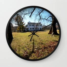 Cherokee Nation - The Historic George M. Murrell Home, No. 4 of 5 Wall Clock