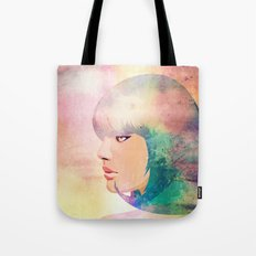 Blue Candy Tote Bag