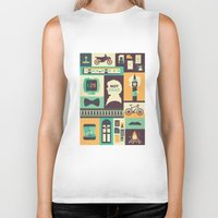 risa rodil Biker Tanks featuring Empty Hearse by Risa Rodil