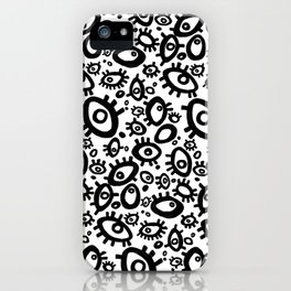 Crazy Eyes iPhone Case