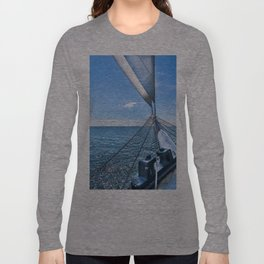 Sailing away to your dreams Long Sleeve T-shirt