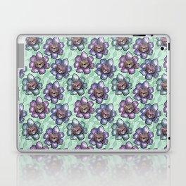 floral kittens Laptop & iPad Skin