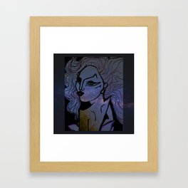 born to be brave Framed Art Print