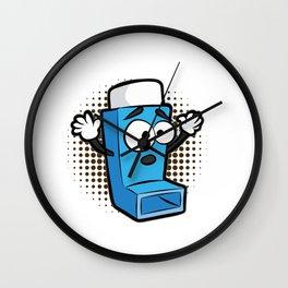 ASTHMA PLAYING LIFE ON HARD MODE Inhaler GIFT Wall Clock