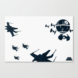 """Stay in attack position"" Canvas Print"