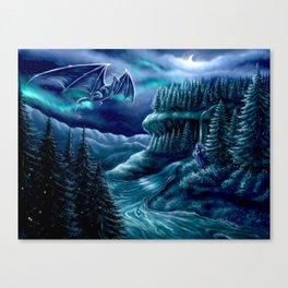 Nordiska Skogen Canvas Print