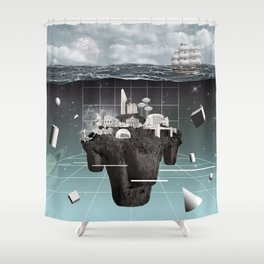 Utopia//Eutopia Shower Curtain
