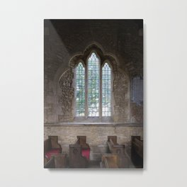 The Church in Bampton Metal Print