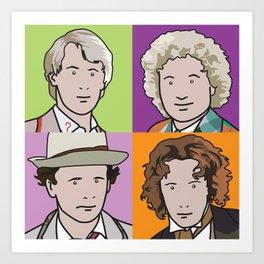 Doctors 5 to 8 Art Print