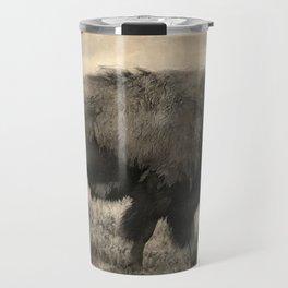 Plains Bison   -  American Buffalo Travel Mug