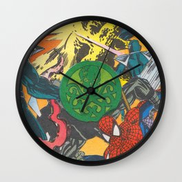 "Marvelous Pages ""Midnight Saga"" 1 Wall Clock"
