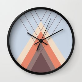 Iglu Blue Retro Wall Clock