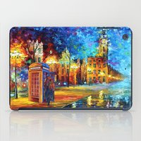 fandom iPad Cases featuring Sherlock and Big ben starry the night iPhone 4 4s 5 5c 6, pillow case, mugs and tshirt by Three Second