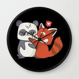 Pnada Love Wall Clock