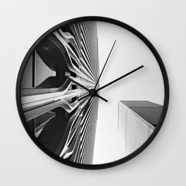 World Up Wall Clock