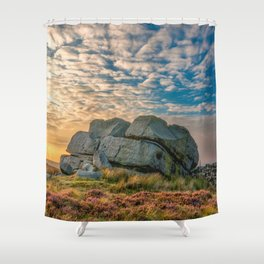 Sunset by Hitching Stone Shower Curtain