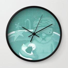 Snorkeling Wall Clock