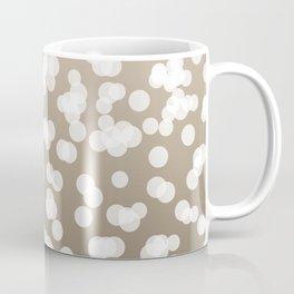 Blurry Lights: Beige (Khaki) Coffee Mug