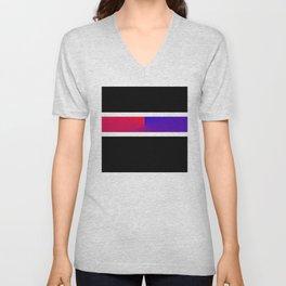 Team Colors 3,,,red blue Unisex V-Neck