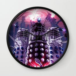 Robot in Doctor Who Wall Clock