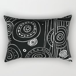 Intergalactic Rectangular Pillow