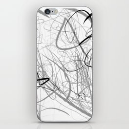 Crazy lines iPhone Skin