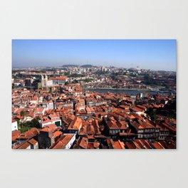 Riverbanks, Portugal Canvas Print