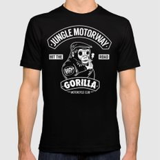 Gorilla Motorcycle Club SMALL Mens Fitted Tee Black