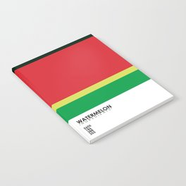 Pantone Fruit - Watermelon Notebook